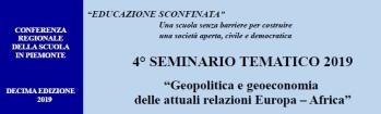 4. Geopolitica e geoeconomia